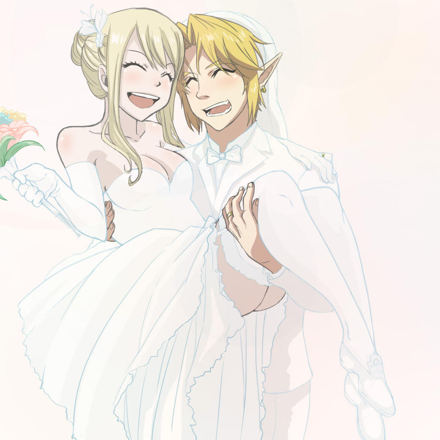 Request: Wedding of Link and Lucy by CarishinLove on ...
