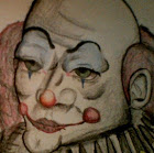 Zambi the clown  fictional portrait by zambiteer