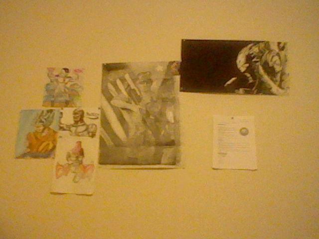 Wall O' creativity 2016 by zambiteer