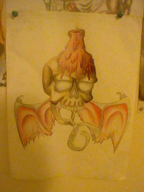 Skull redo 2015 by zambiteer