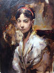 Oil painting study