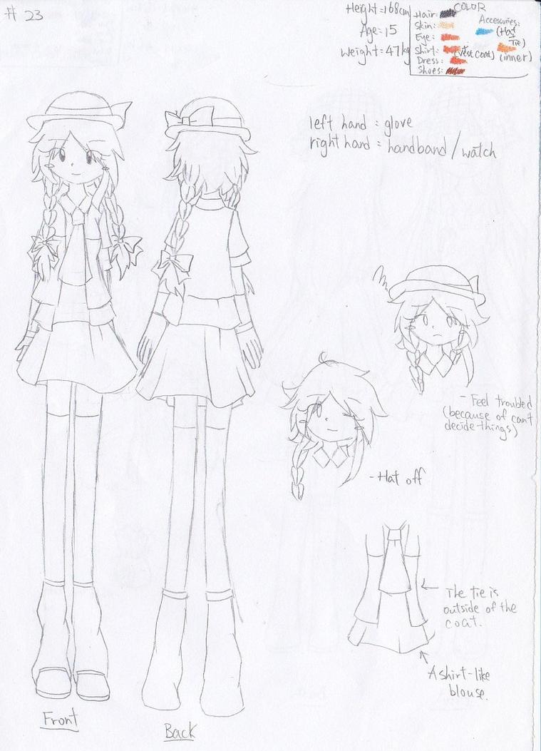 Character sheet No.23: Little Miss Fickle by Secret-Sherry34
