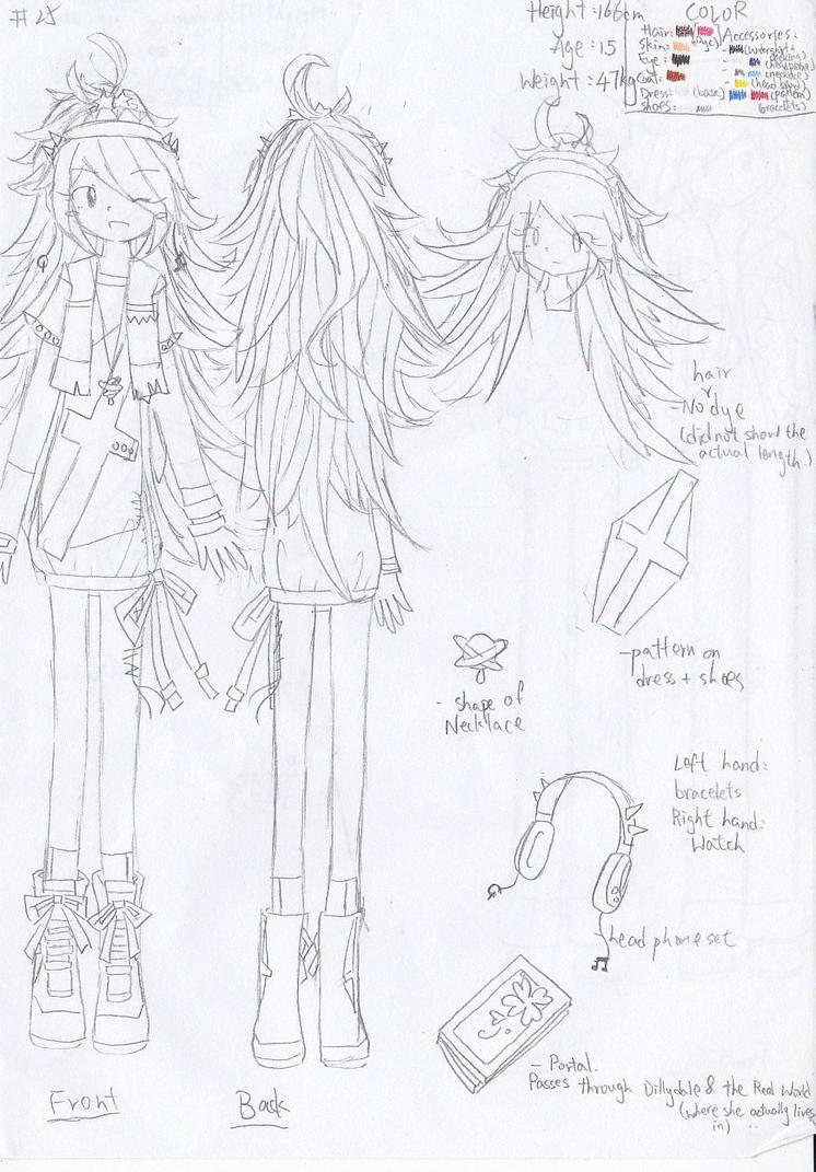 Character sheet No.25: Little Miss Chance by Secret-Sherry34