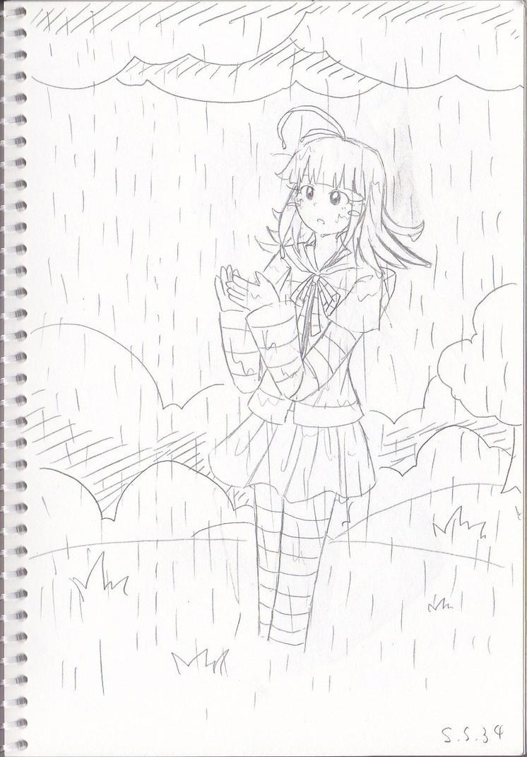 It's raining by Secret-Sherry34