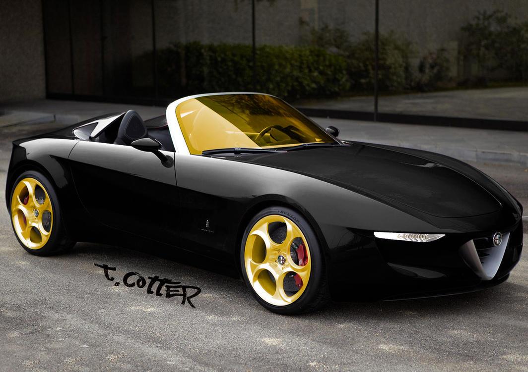 Alfa Romeo Concept Car Customized By Athronos On Deviantart
