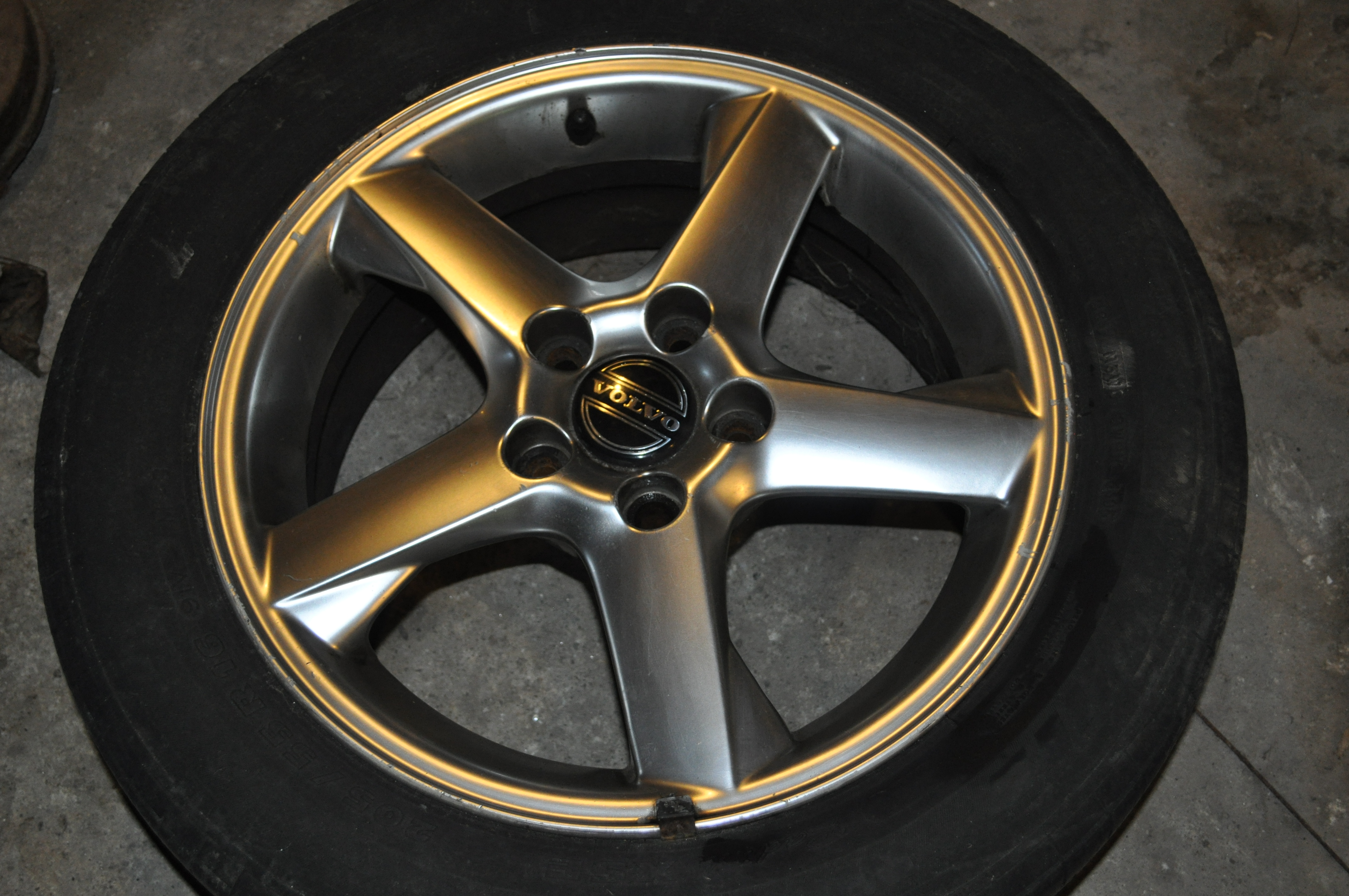 rims volvo used oem silver factory