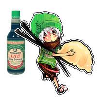Kikkoman LITE Soy Sauce. by Kei-yo