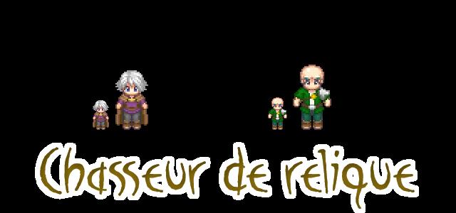 Chasseur de Relique - persos by le6barbare