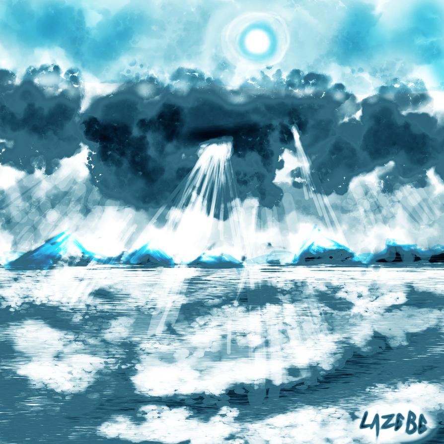 Sea and Sky by Lazebe