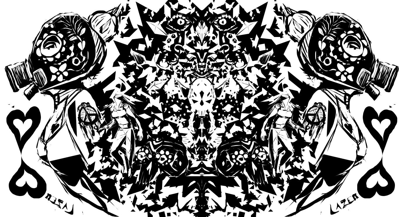 Muerto Gas Mask by Lazebe