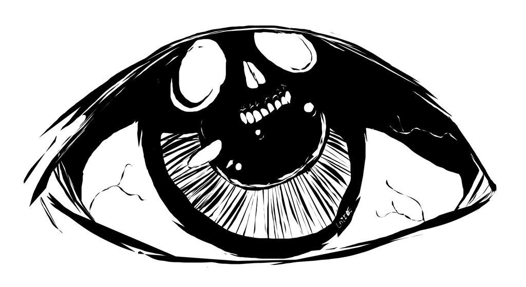 Eye Skull by Lazebe