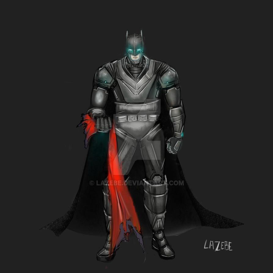 Dawn of Justice Batman by Lazebe