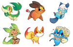 Pokemon Stickers Set 13