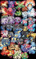 Hella pokemon stickers