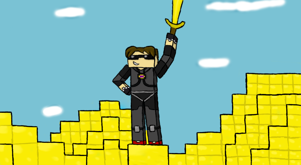 Sky Does Minecraft by BlackFlamingox on DeviantArt
