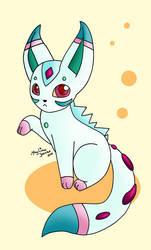 Chiyuno .:fakemon:. by Limynna