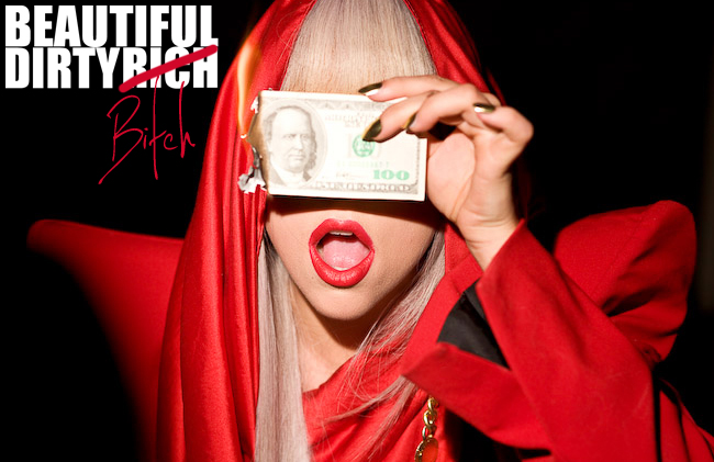 Beautiful Dirty Rich/Bitch - Lady Gaga by anoanoanoano