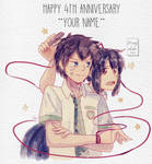 Your name_ 4th anniversary SPEED PAINT