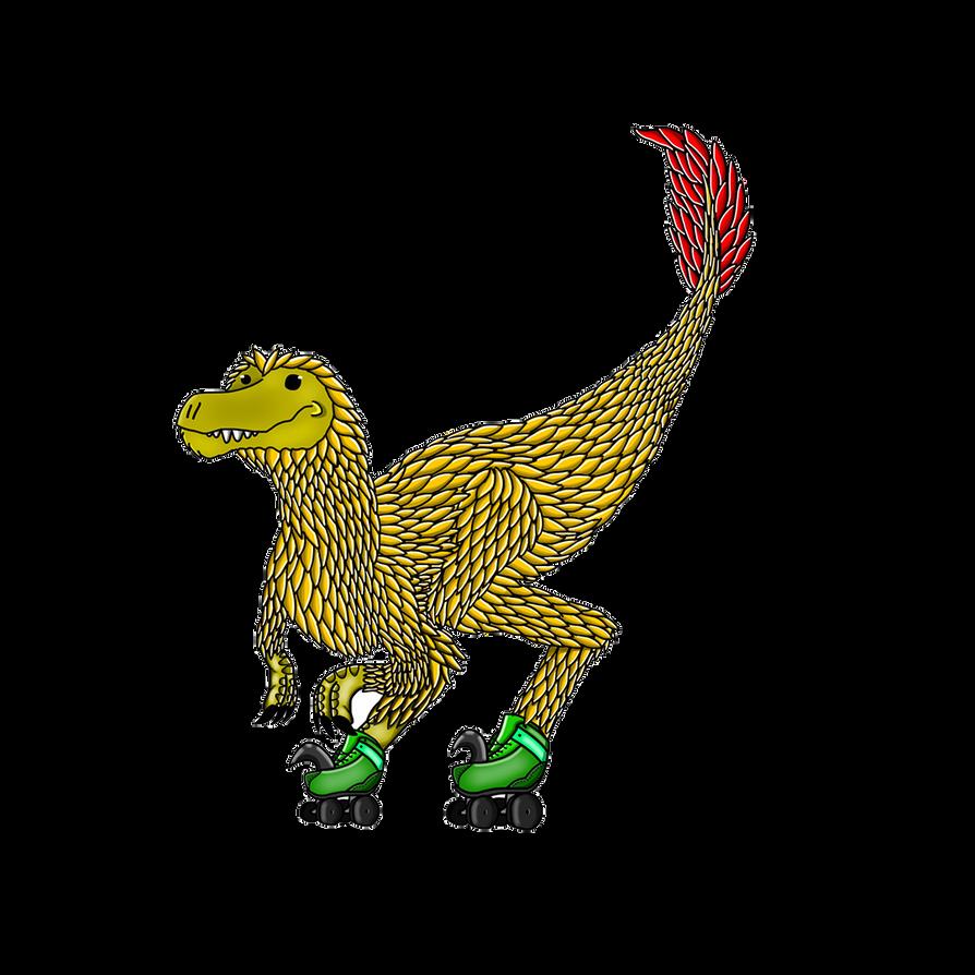 Raptors on Rollerskates... by BryanTheWolf