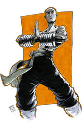 San Te from 36th Chamber of Shaolin by RecsFX