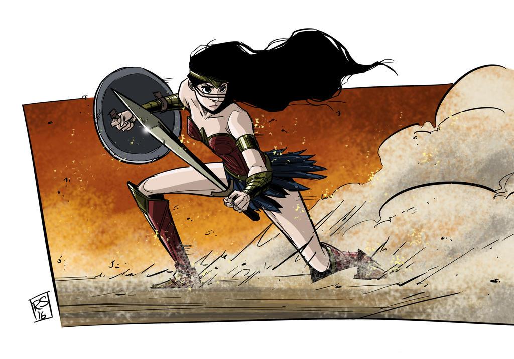 WonderWoman by RecsFX