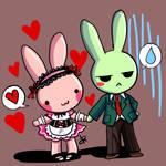 Strawberry and Lemon cosplay