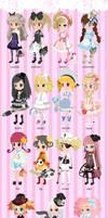 Tinierme Loli collection by Kitsune-Petit