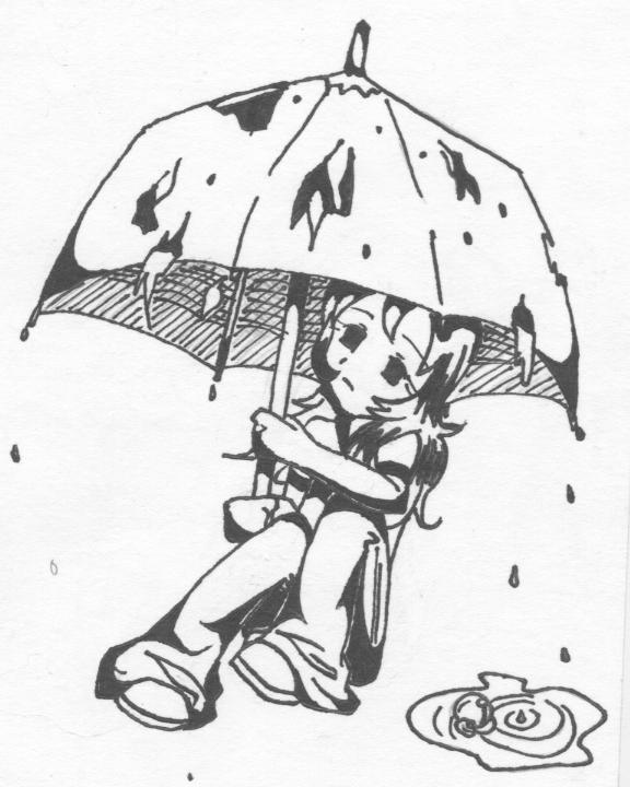 Acid Rain Drawings