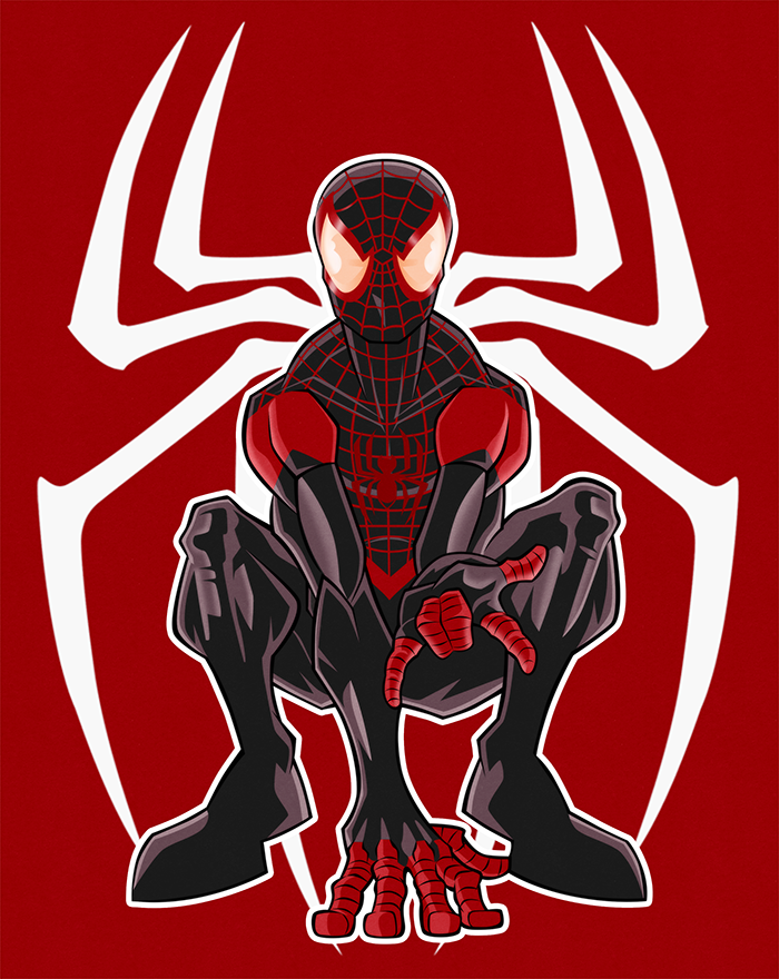 Miles Morales By Marvelisto