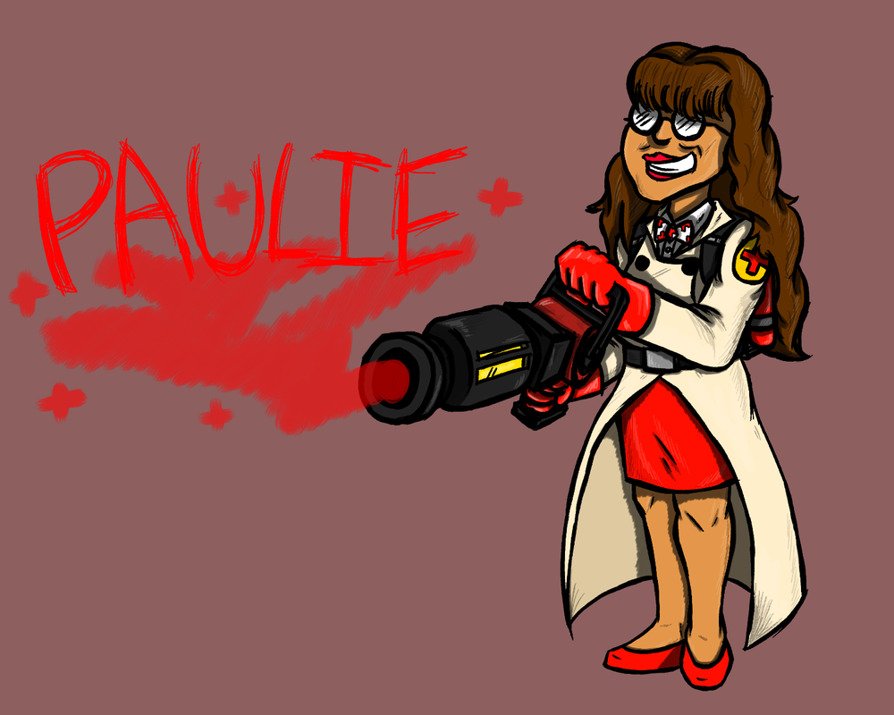 Paulie Femedic Cosplay Fanart by theINAshow