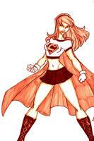 Supergirl Mattel by kidmarvelj