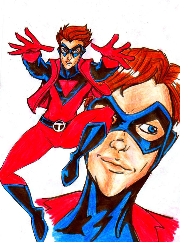 Teen Titans A-Z : The Atom by kidmarvelj