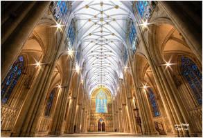 Inside York Minister by petemc