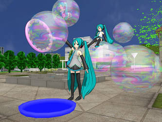 MMD Bubble Accessory !!This is the old version!! by Keke-s-h