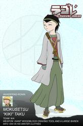 SDL - Kiki's winter clothing