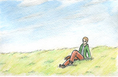 Watercolor Field by wandering-ronin