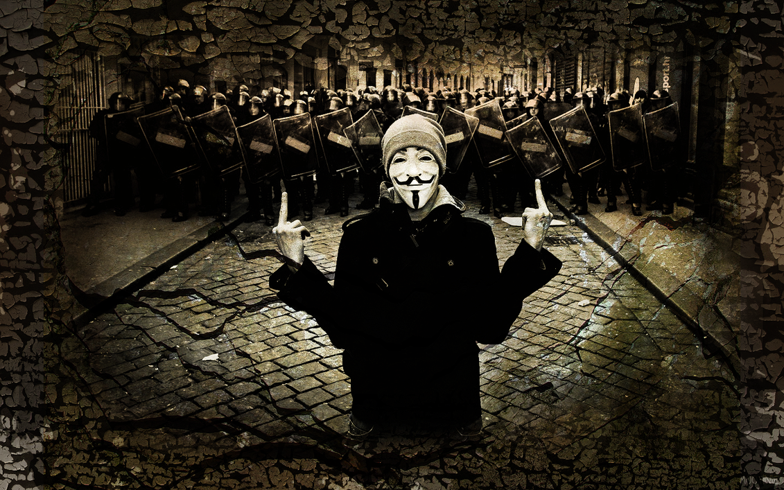 Vendetta Wallpaper By Mootinie