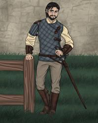 Owen Guard No Cape Dawn by LasselantaNariel