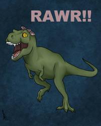Rosie T-Rex by LasselantaNariel
