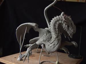 Dragon sculpt in sculpey firm