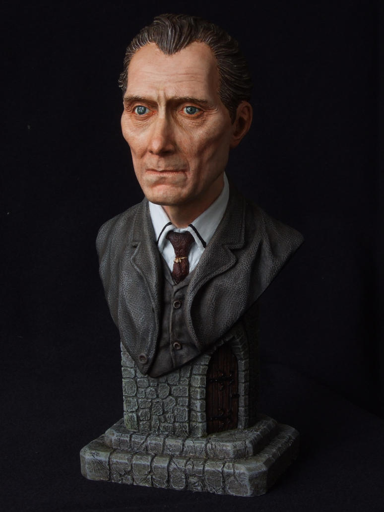 Peter Cushing - bust by revenant-99