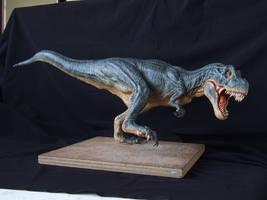 T-Rex sculpt in super sculpey, pic 2 by revenant-99