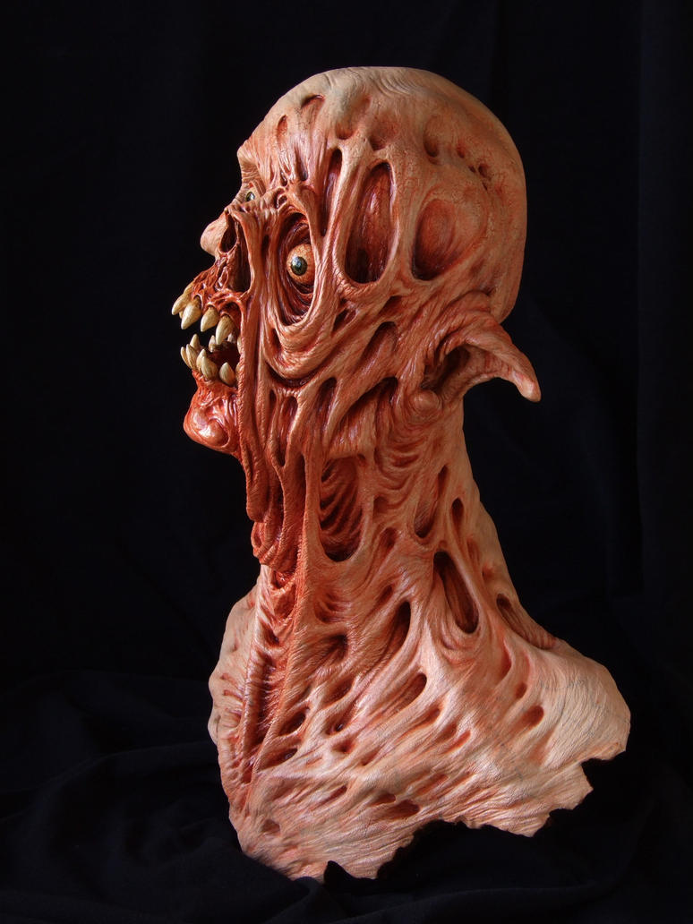 Twisted - sculpture: side view by revenant-99