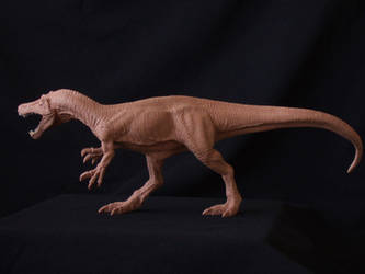 Baryonyx - prototype toy sculpt another view by revenant-99