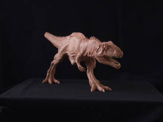 Giganotosaurus - prototype toy sculpt. front view by revenant-99