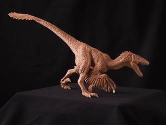 Deinonychus - prototype toy sculpture by revenant-99