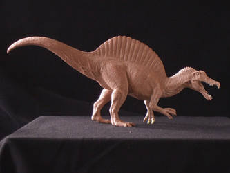 Spinosaurus - prototype toy sculpt - profile