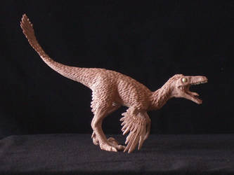 Troodon - prototype toy sculpt