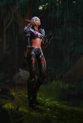 Rain in the Jungle by mystmantle