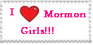 Mormon Girls stamp by Identical